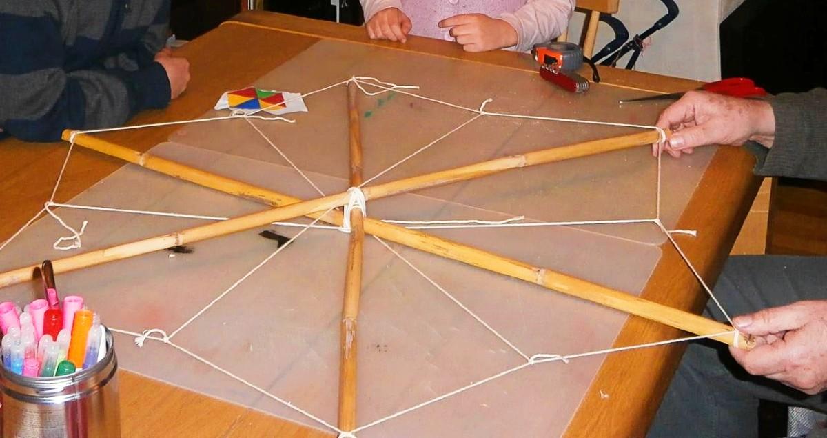 DIY kite for Kathara Deftera