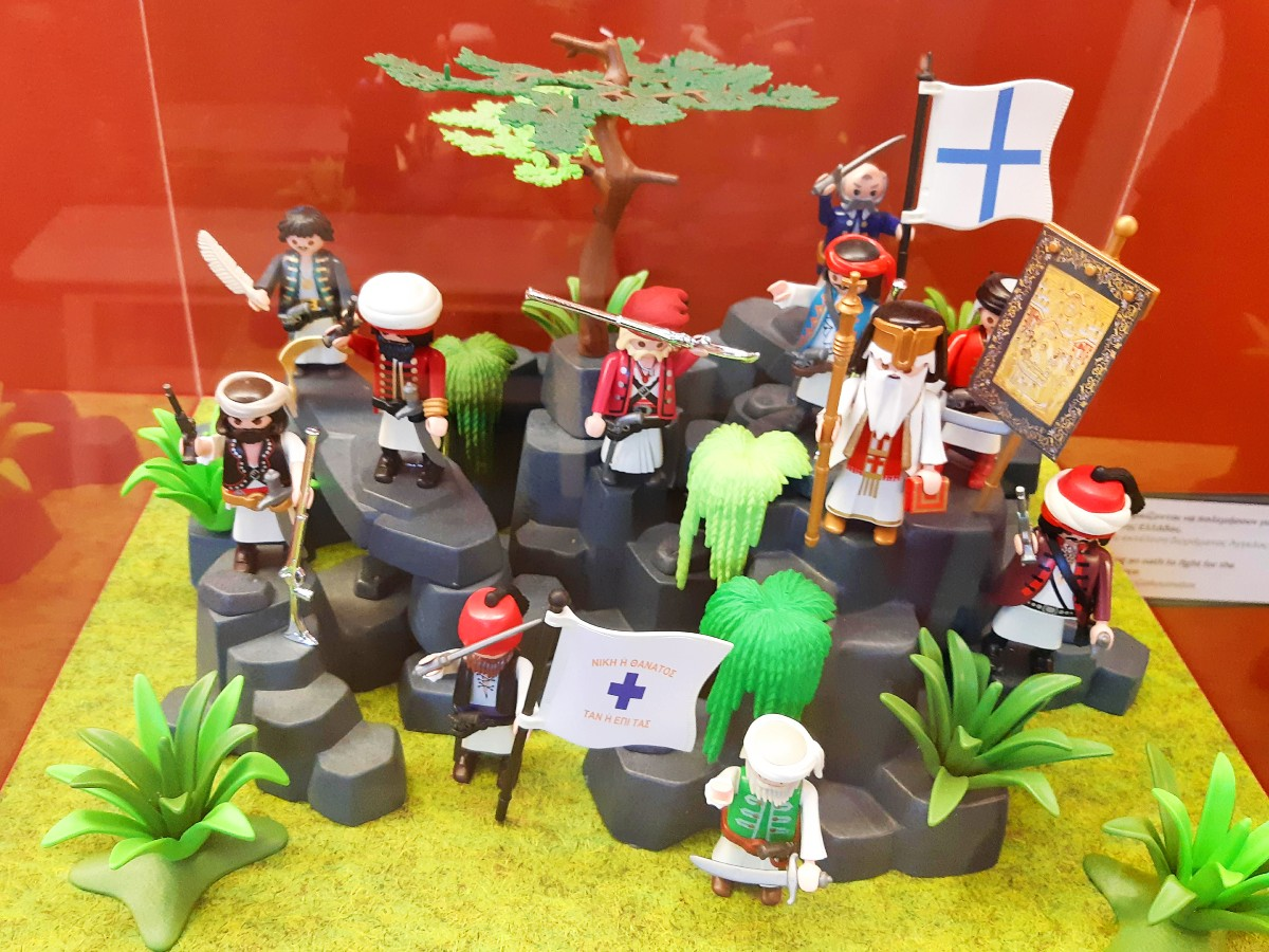200 years from Greek Independence War - A playmobil exhibition