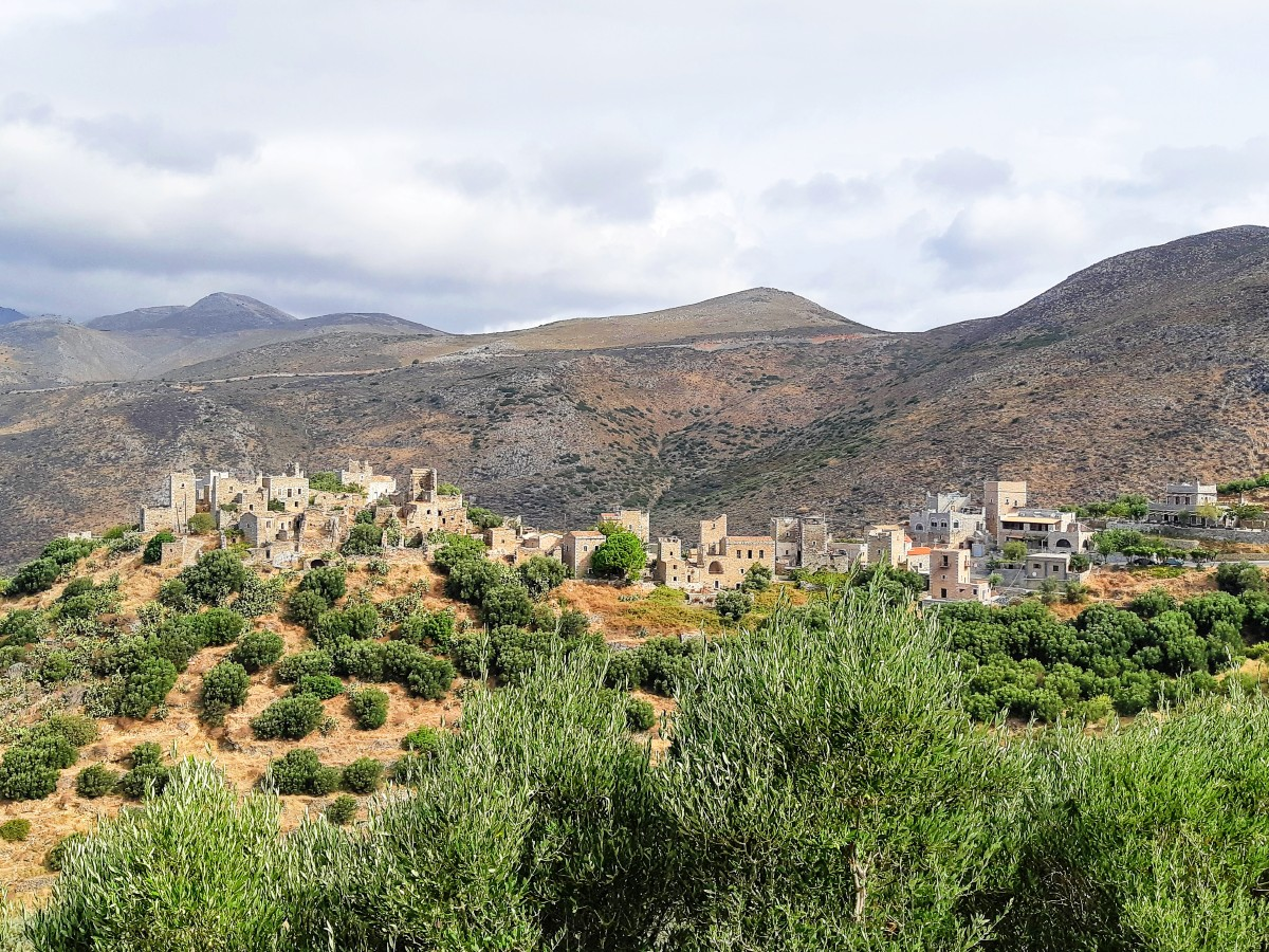 Vathia village in the Peloponnese