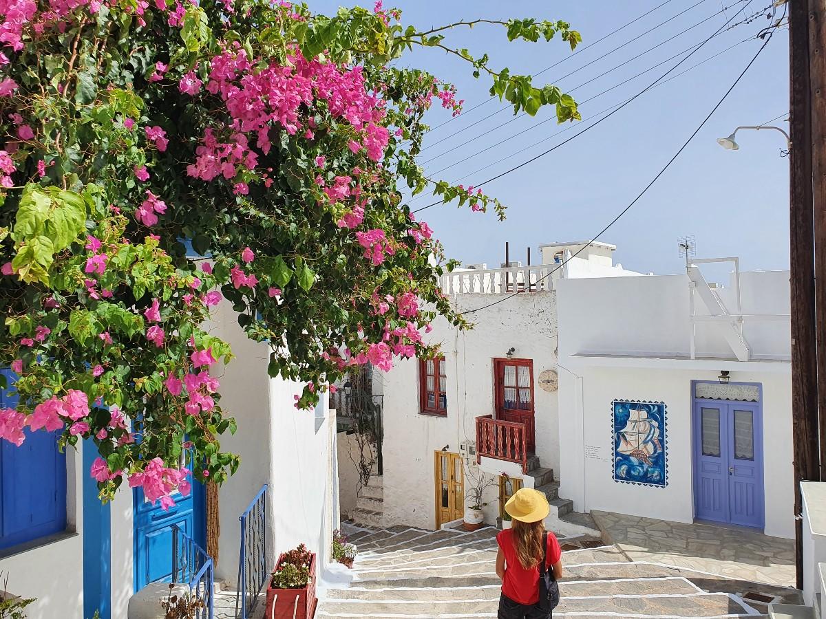 Greece - The quaint town of Plaka Milos