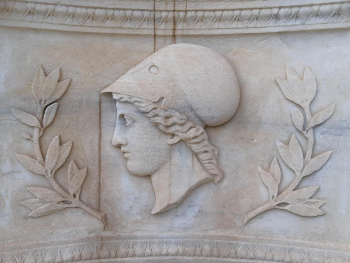 Greek mythology - Statue of Athena
