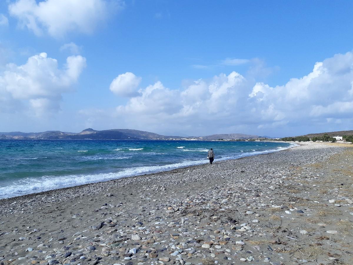 A beach in Kimolos Greece