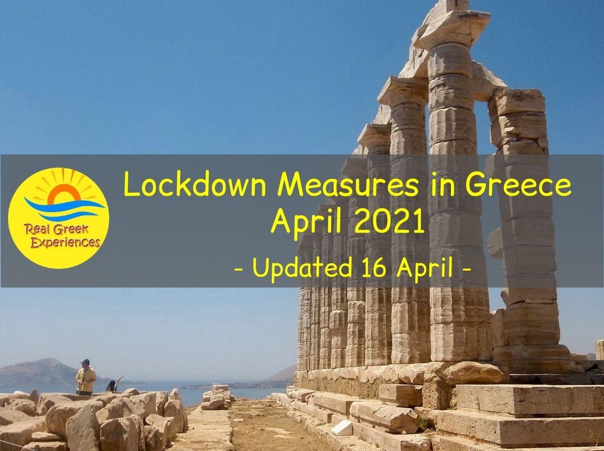 COVID measures in Greece April 2021