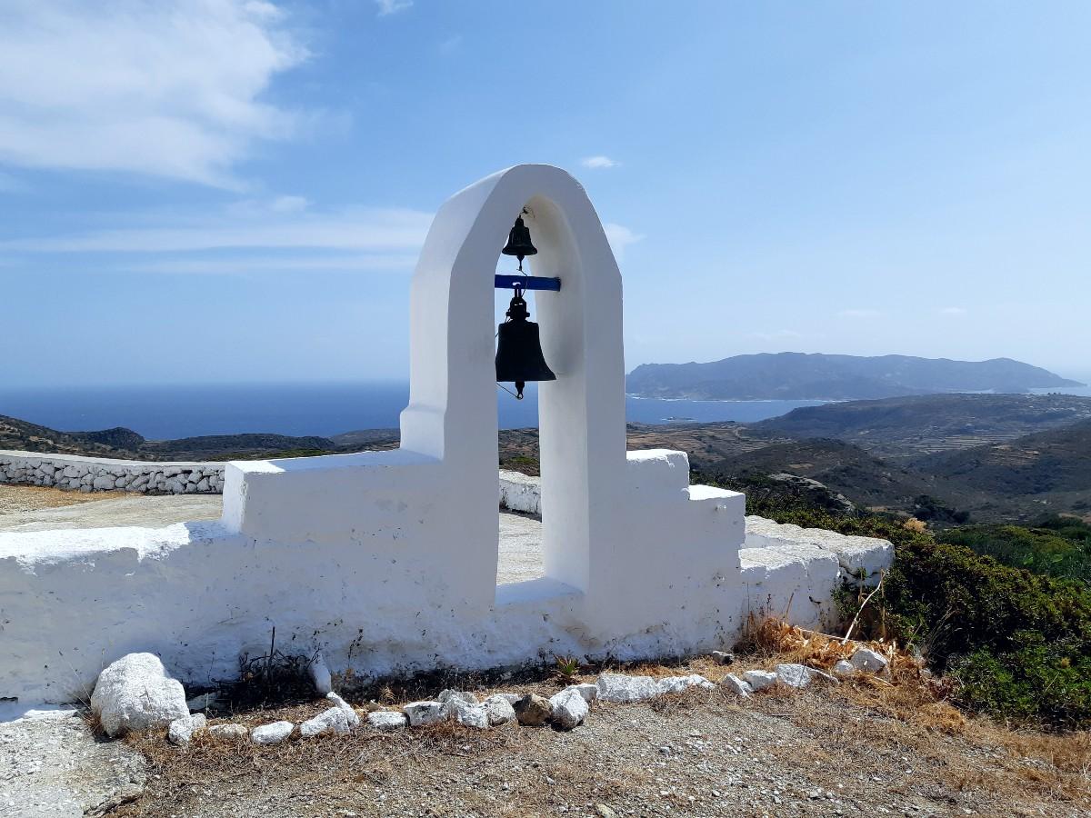 A church in Kimolos Greece