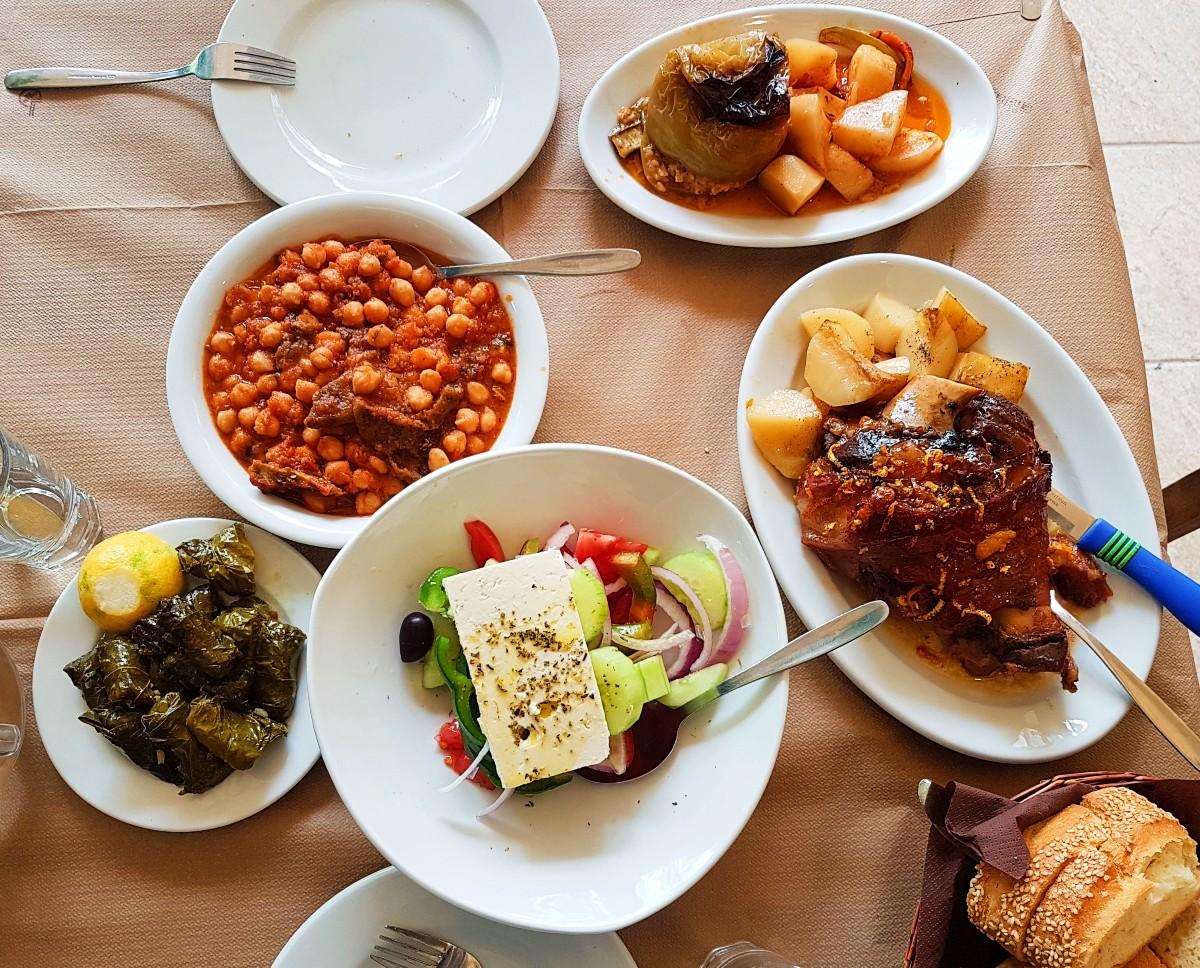 Greek cuisine is varied