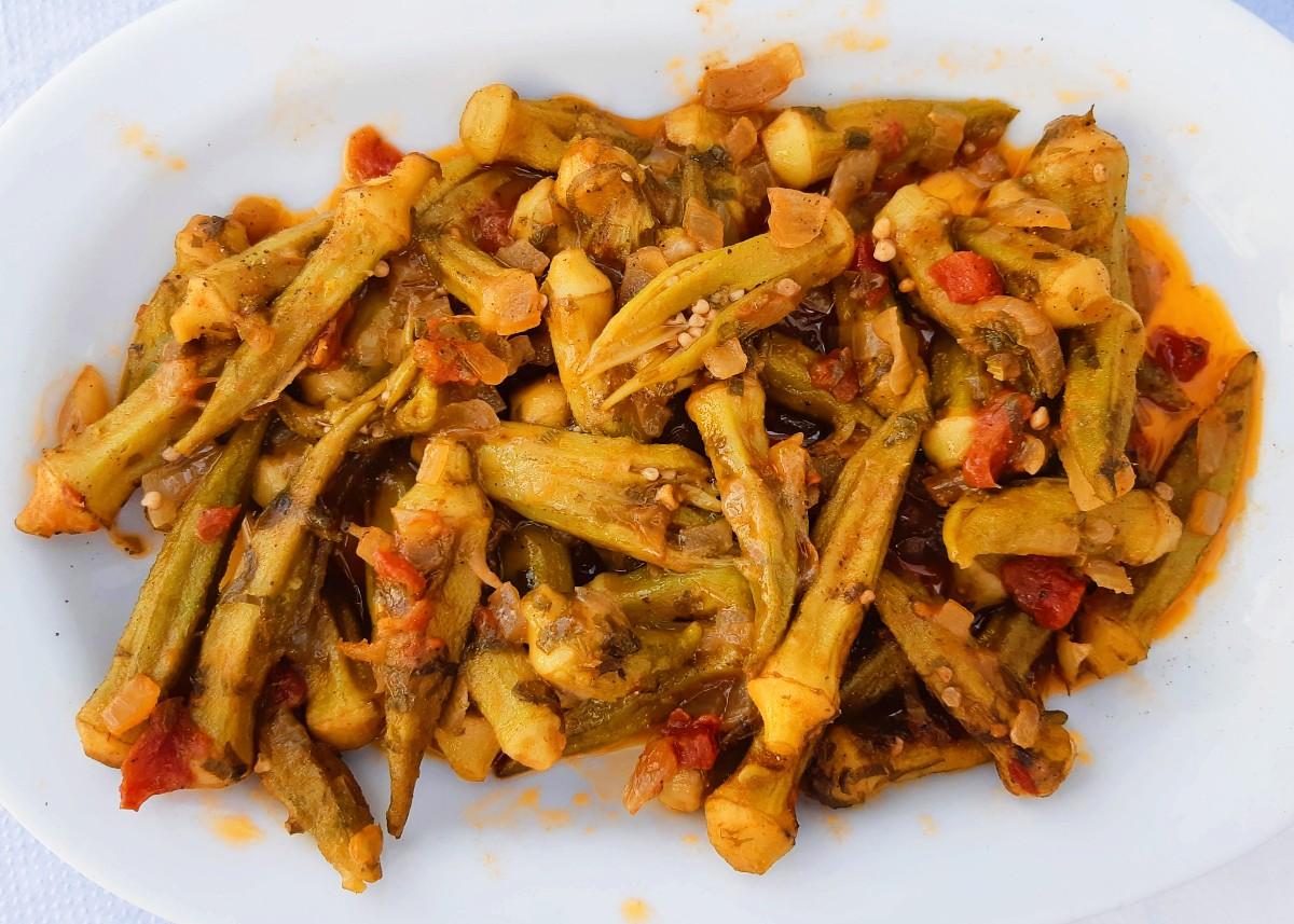 Food of Greece - Okra