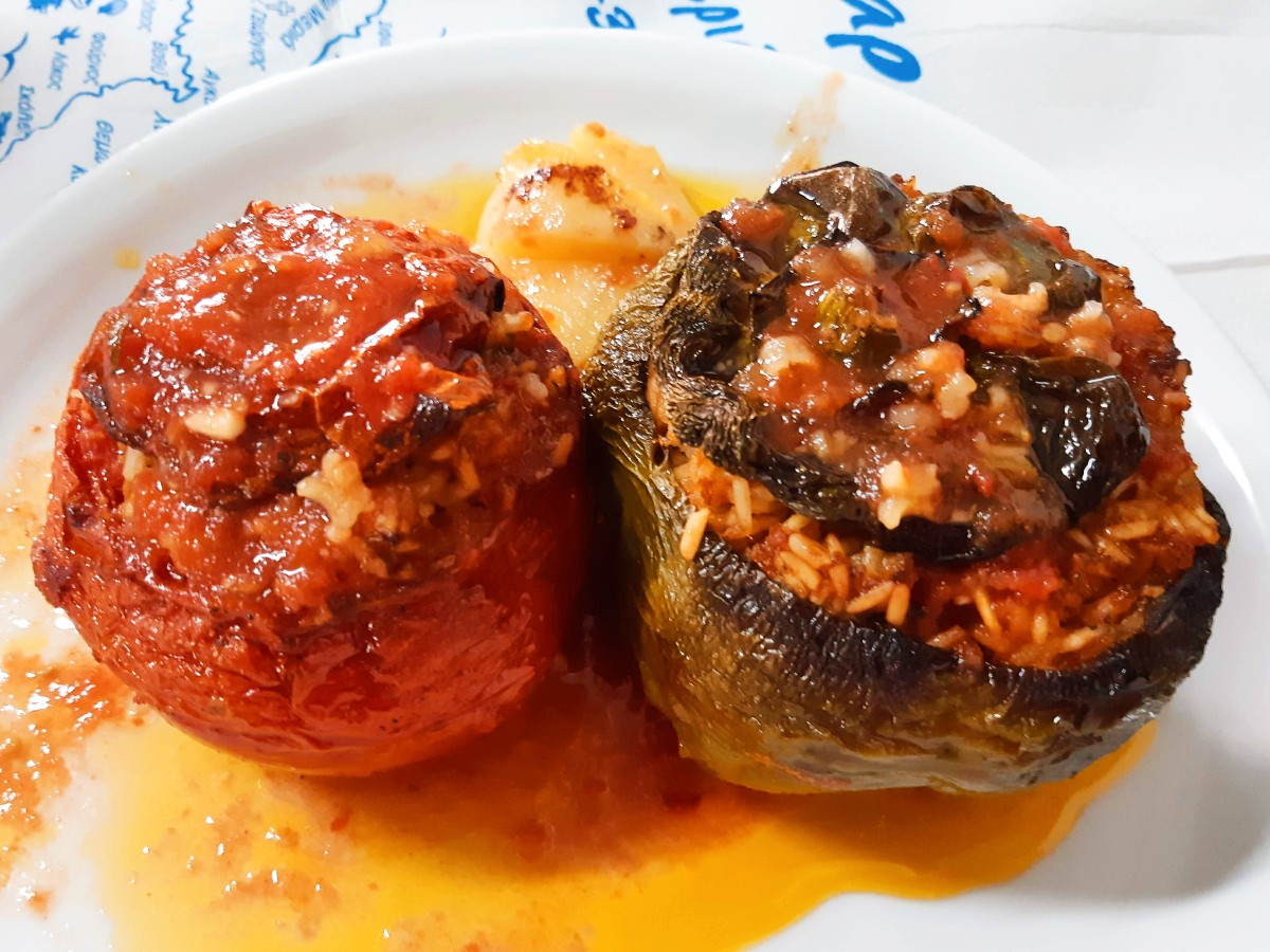 Food of Greece - Delicious gemista