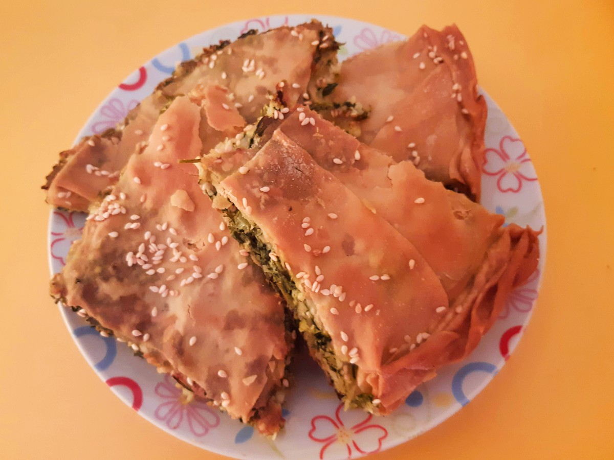 Food of Greece - Spanakopita