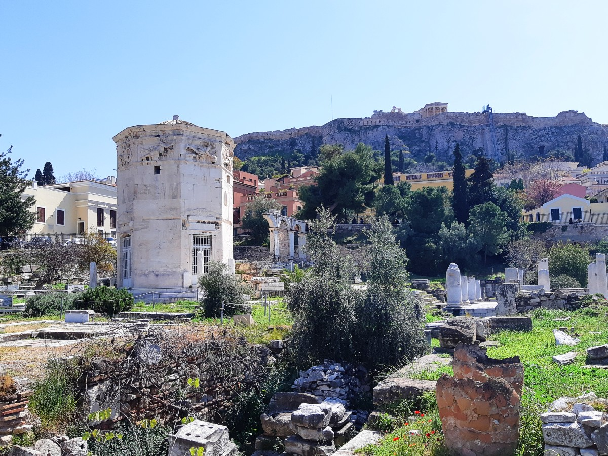 April, May, September and October are great months to visit Athens