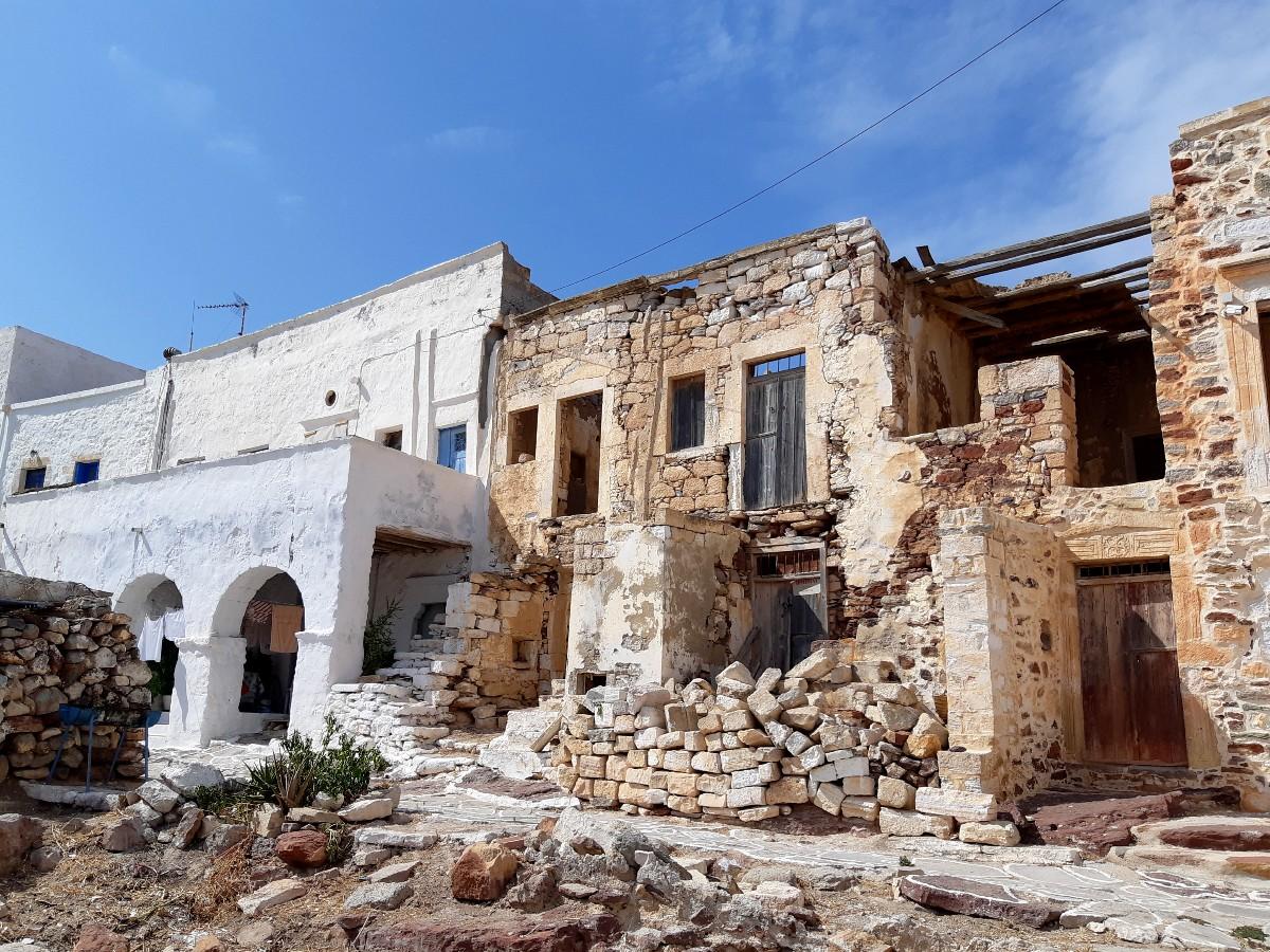 The Castle in Kimolos Greece