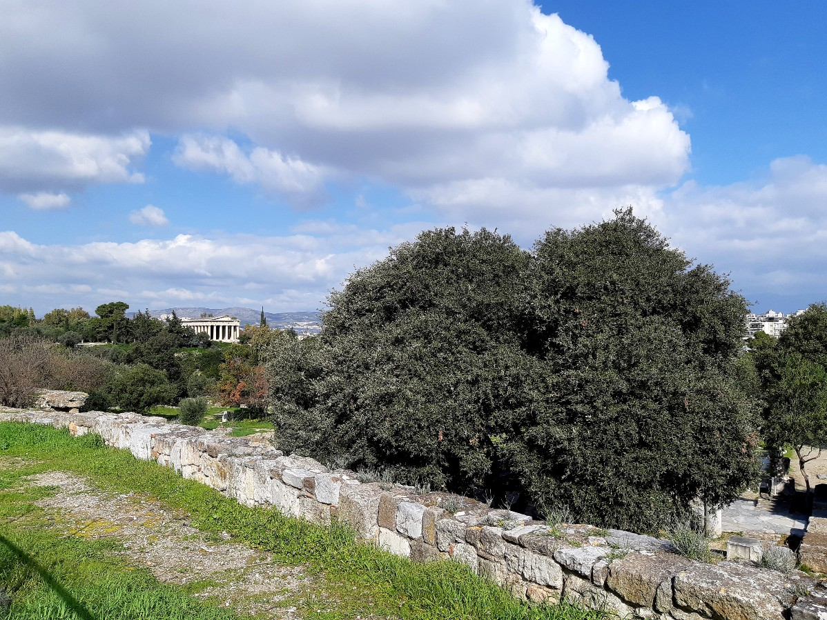 The Ancient Agora in Athens