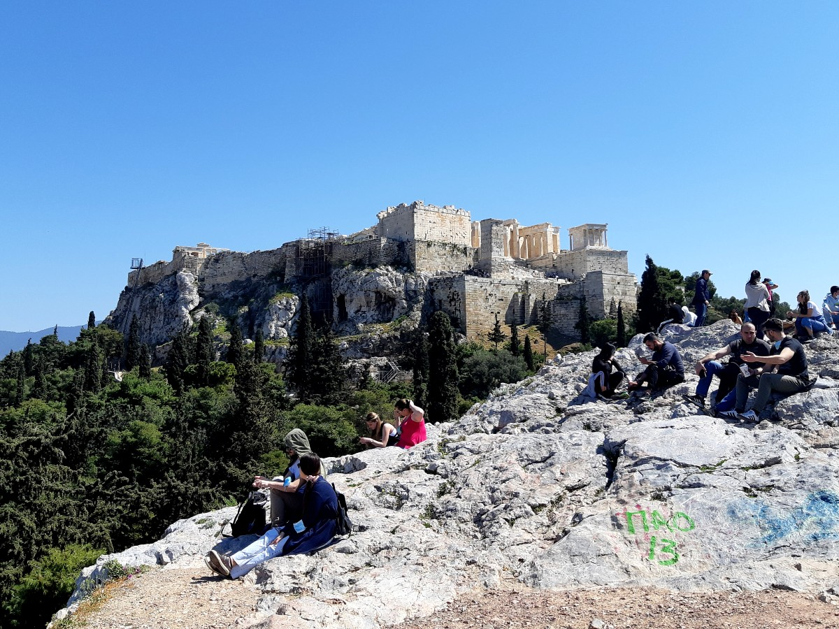 2 days in Athens itinerary - Visit Areopagus