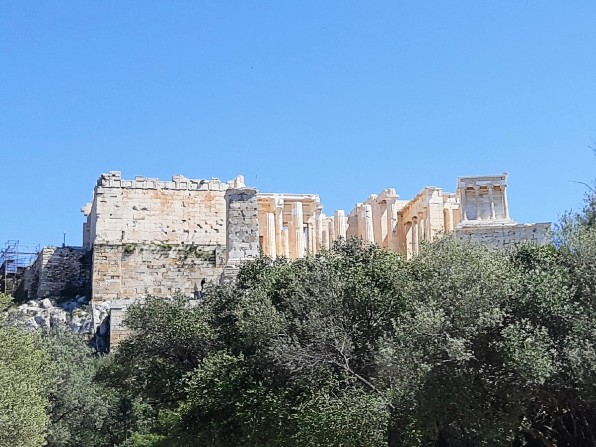 View of the Greek capital