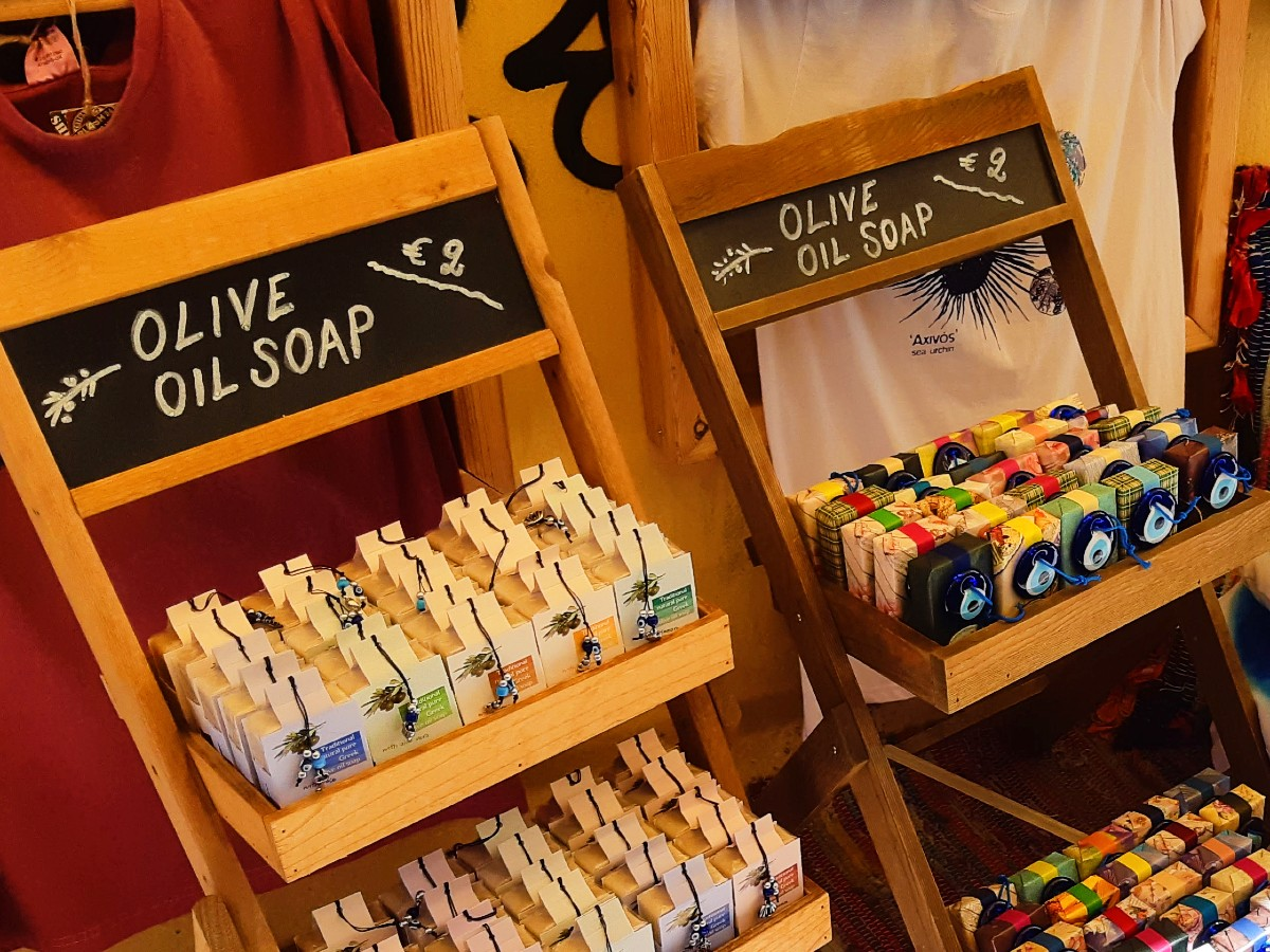 Olive soap in Greece
