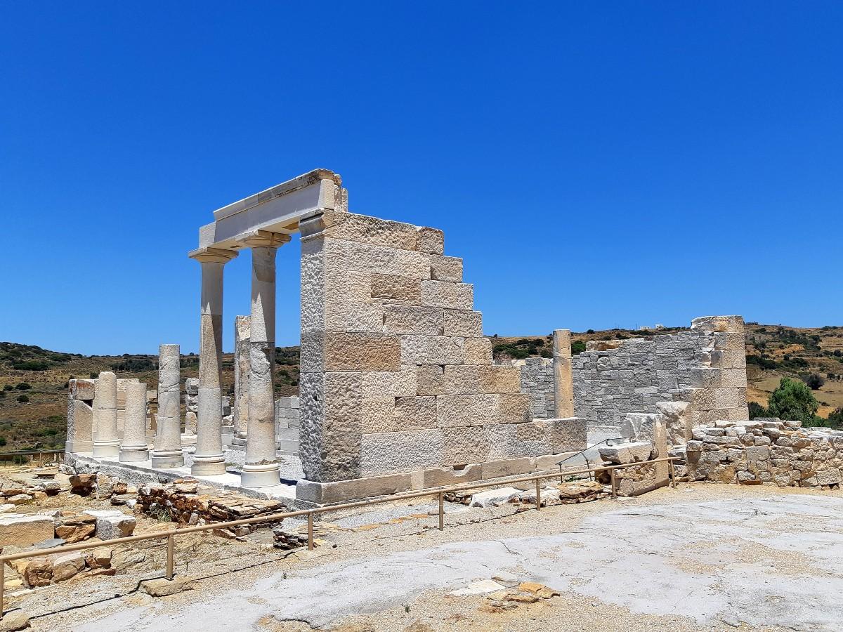 Temple of Demeter goddess of harvest