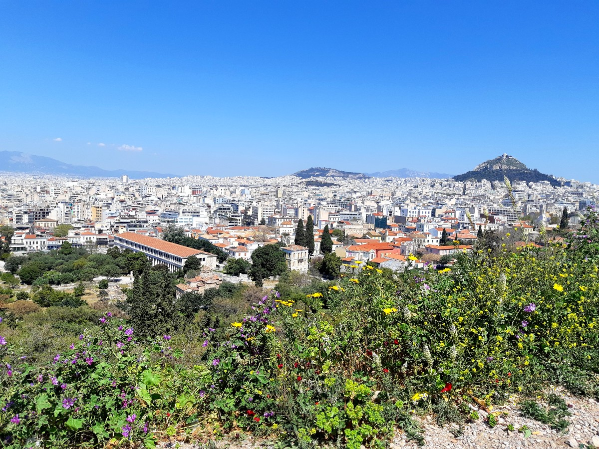 Visit Athens in spring