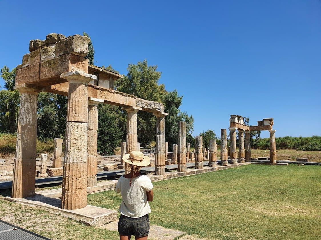 Temple of Artemis at Vravrona near Athens