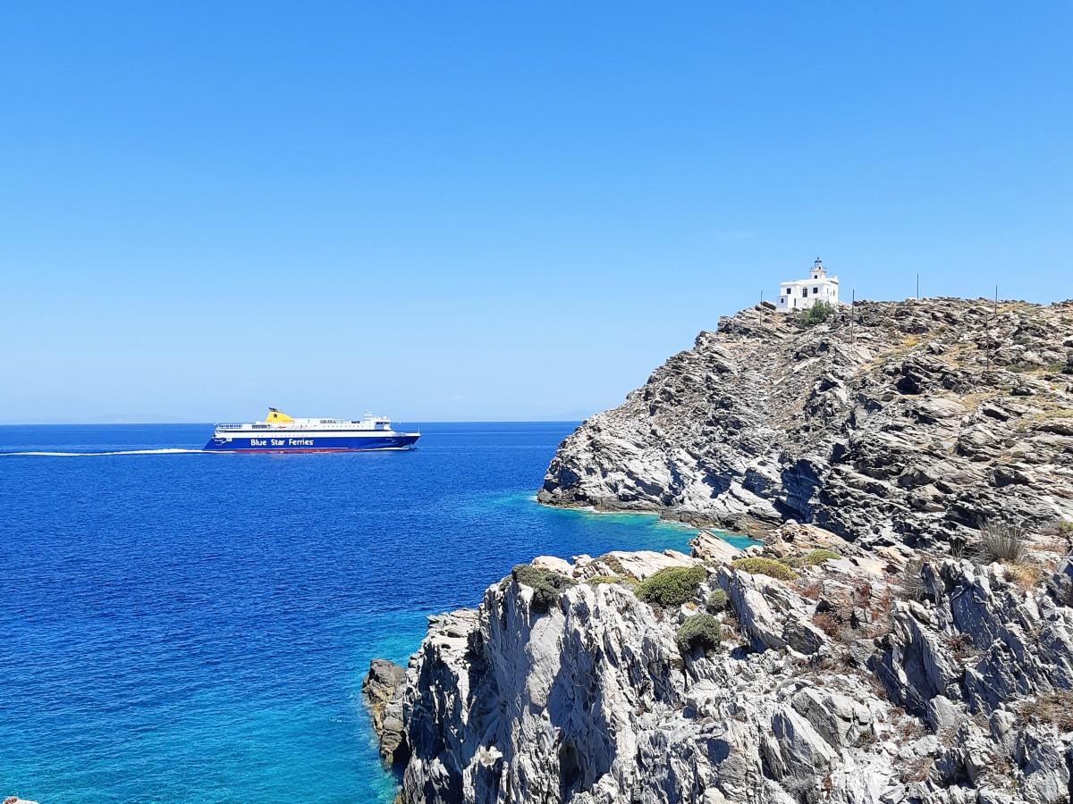 Blue Star Ferry from Piraeus to Paros