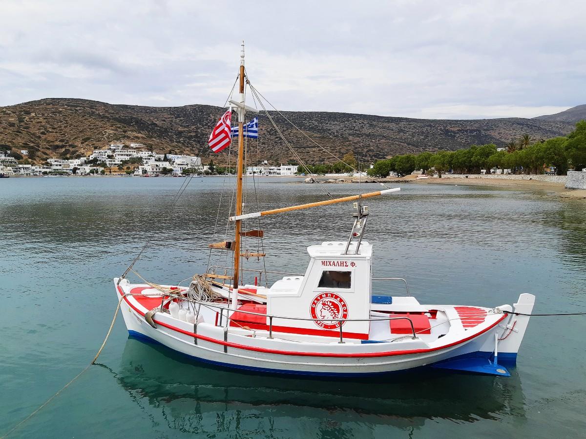 Small boat in Amorgos