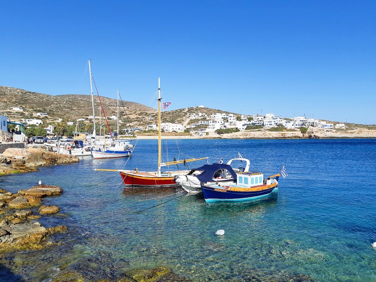 Donousa Greece