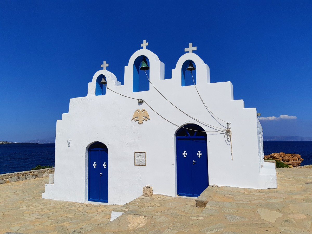 A church in Paros Greece