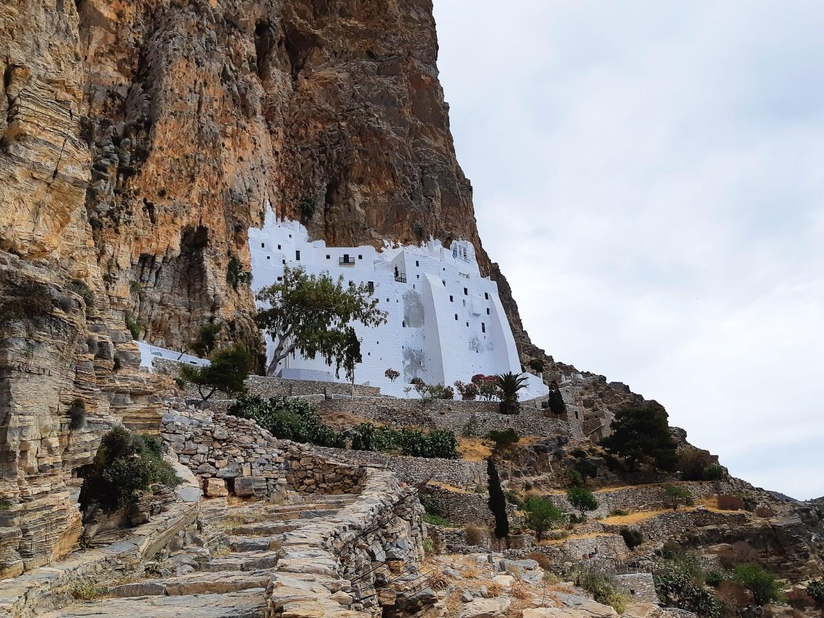 Chozoviotissa monastery in Amorgos