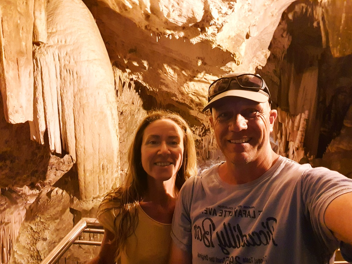 Real Greek Experiences inside Antiparos Cave Greece