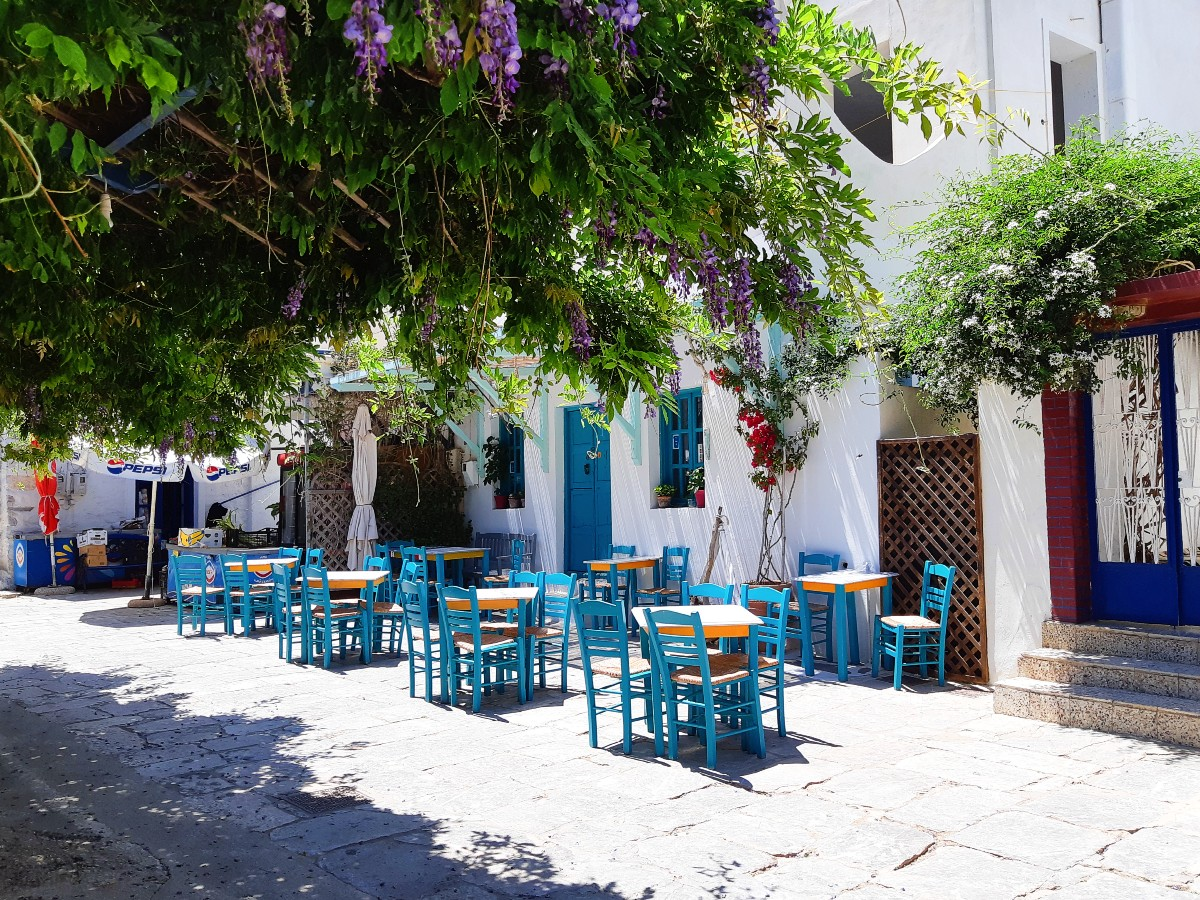 Visit Lagada village in Amorgos