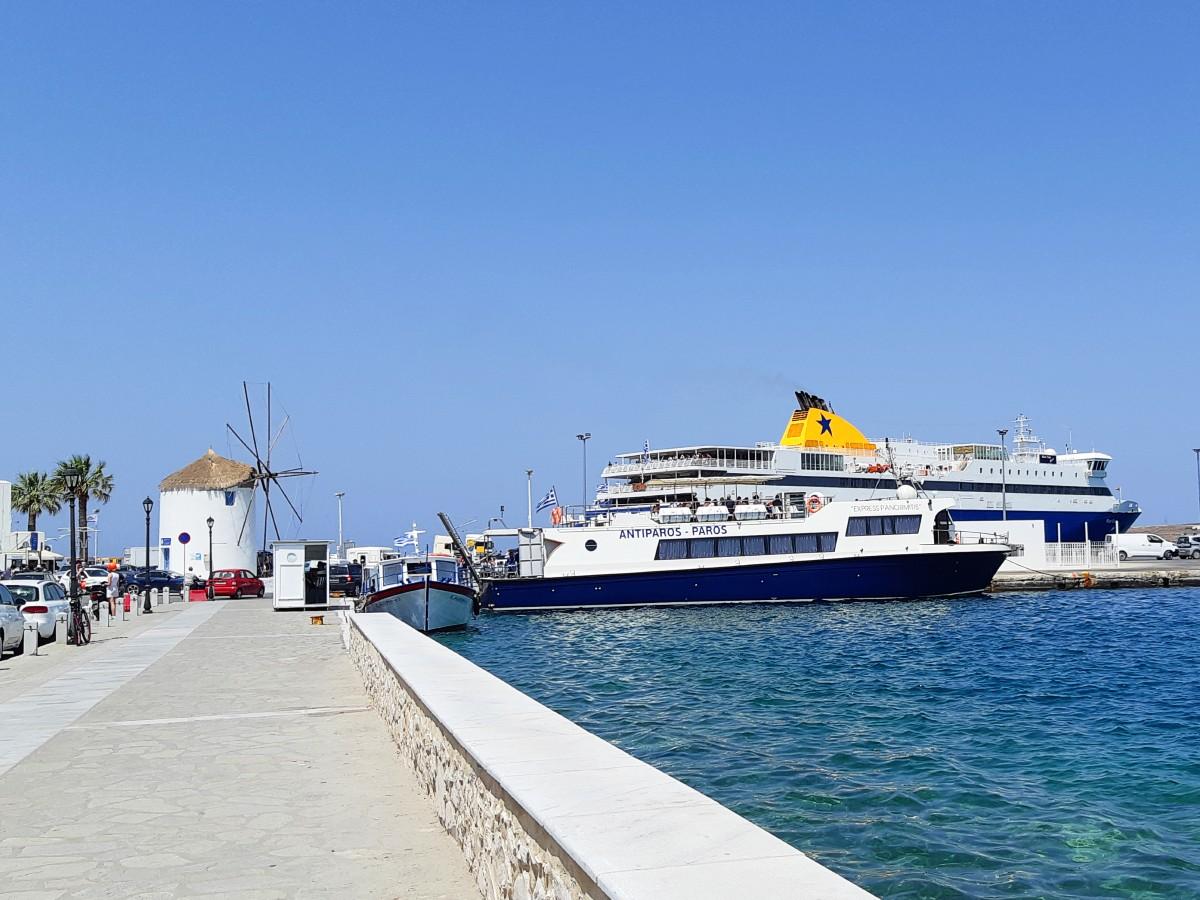 Ferry from Parikia to Antiparos