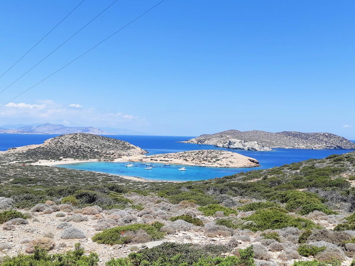 Kalotaritissa Bay in Amorgos