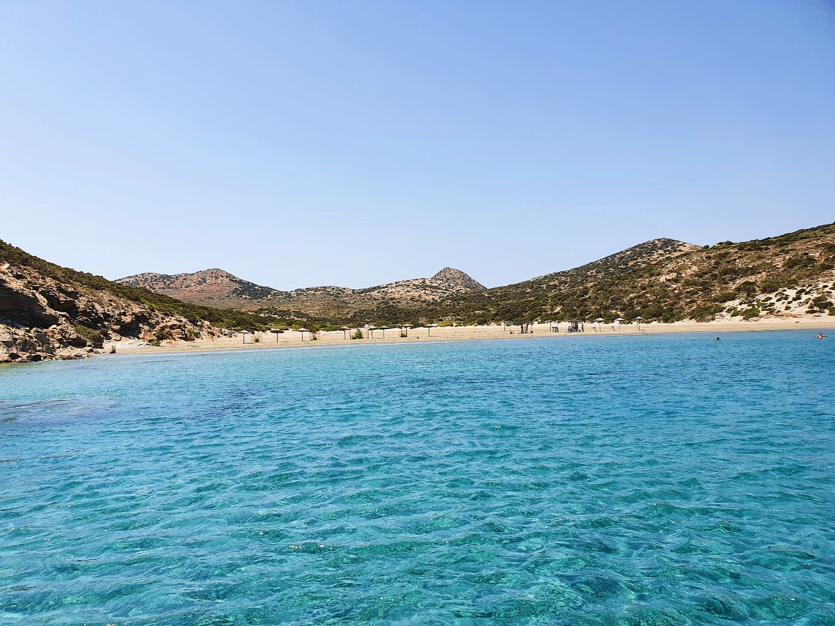 Sailing trip from Paros to Despotiko