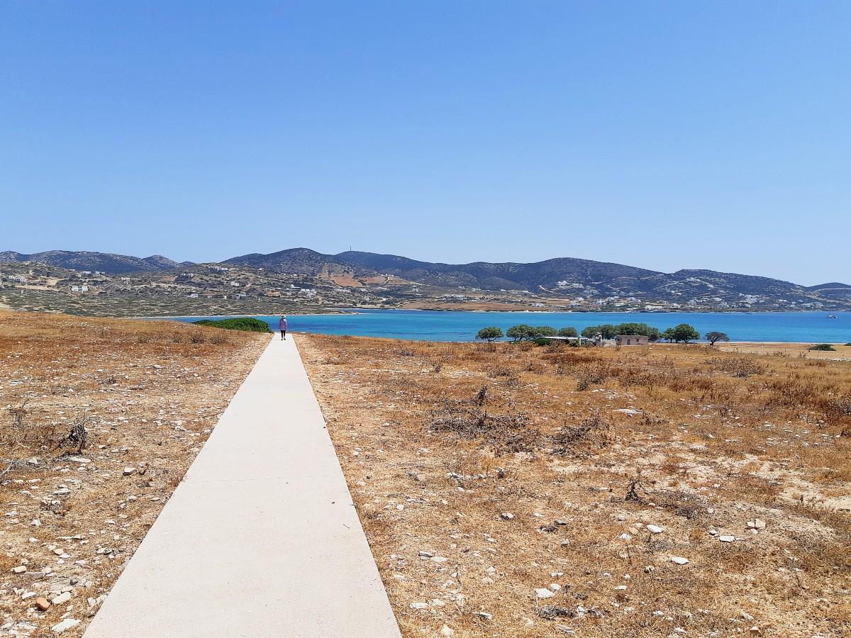 Visit Despotiko island in Greece