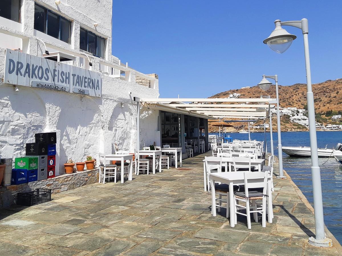 Greece is full of psaro tavernas