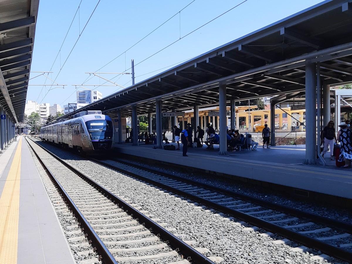 Athens Greece train station
