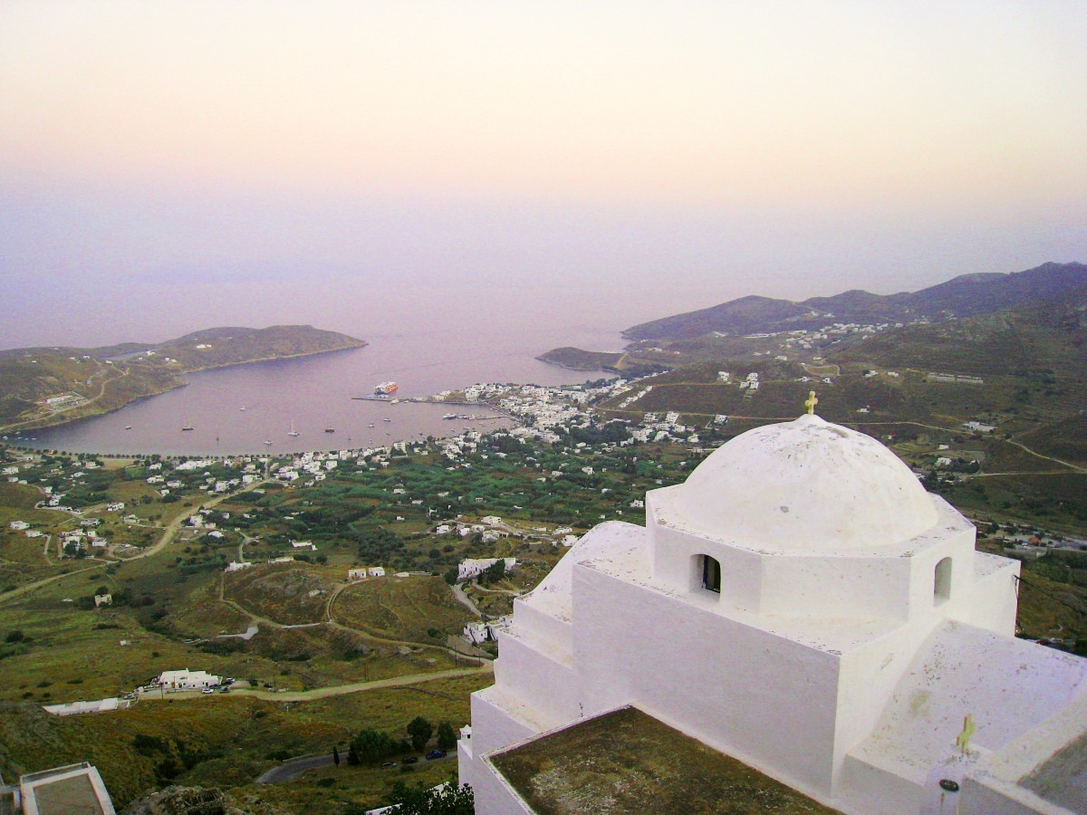 The stunning Chora in Serifos