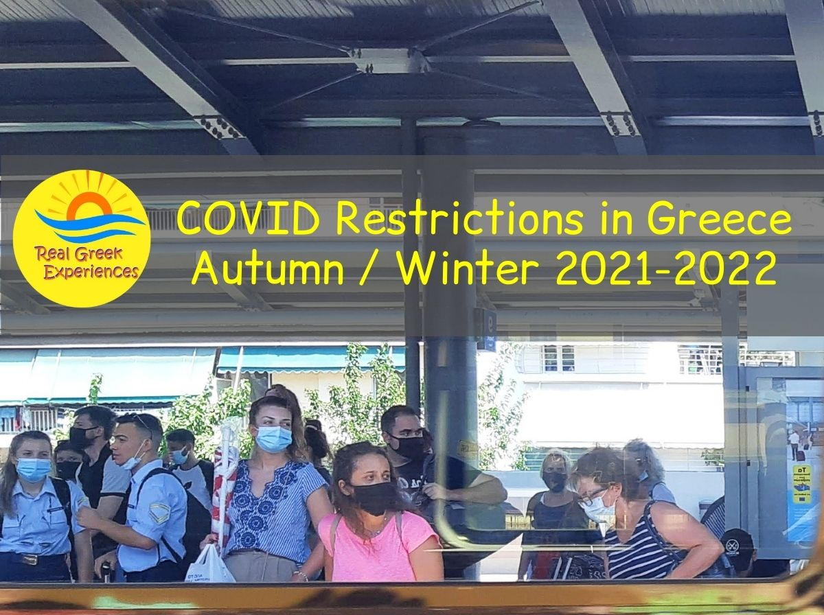 Covid restrictions in Greece autumn - winter 2021-2022