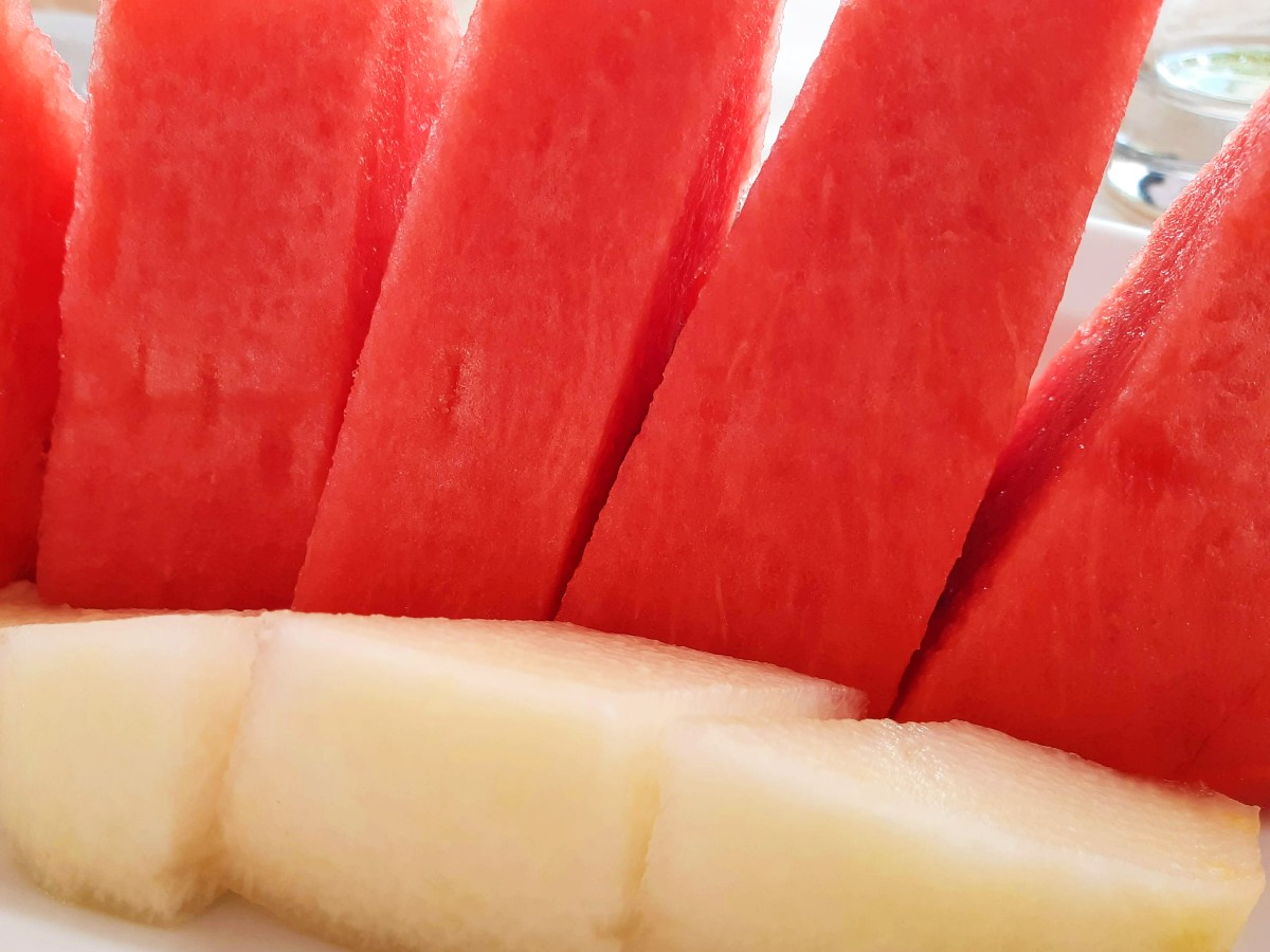 Tasty summer fruit