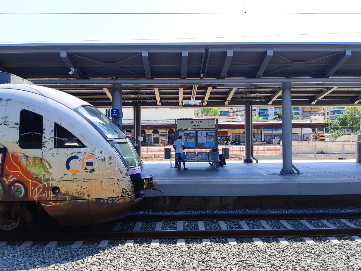 Athens train station