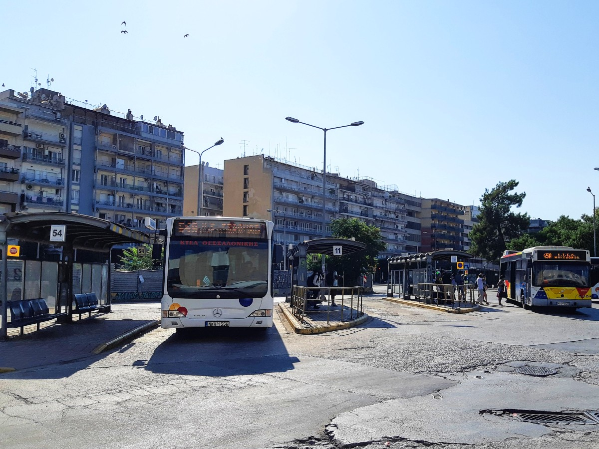 Buses in Thessaloniki