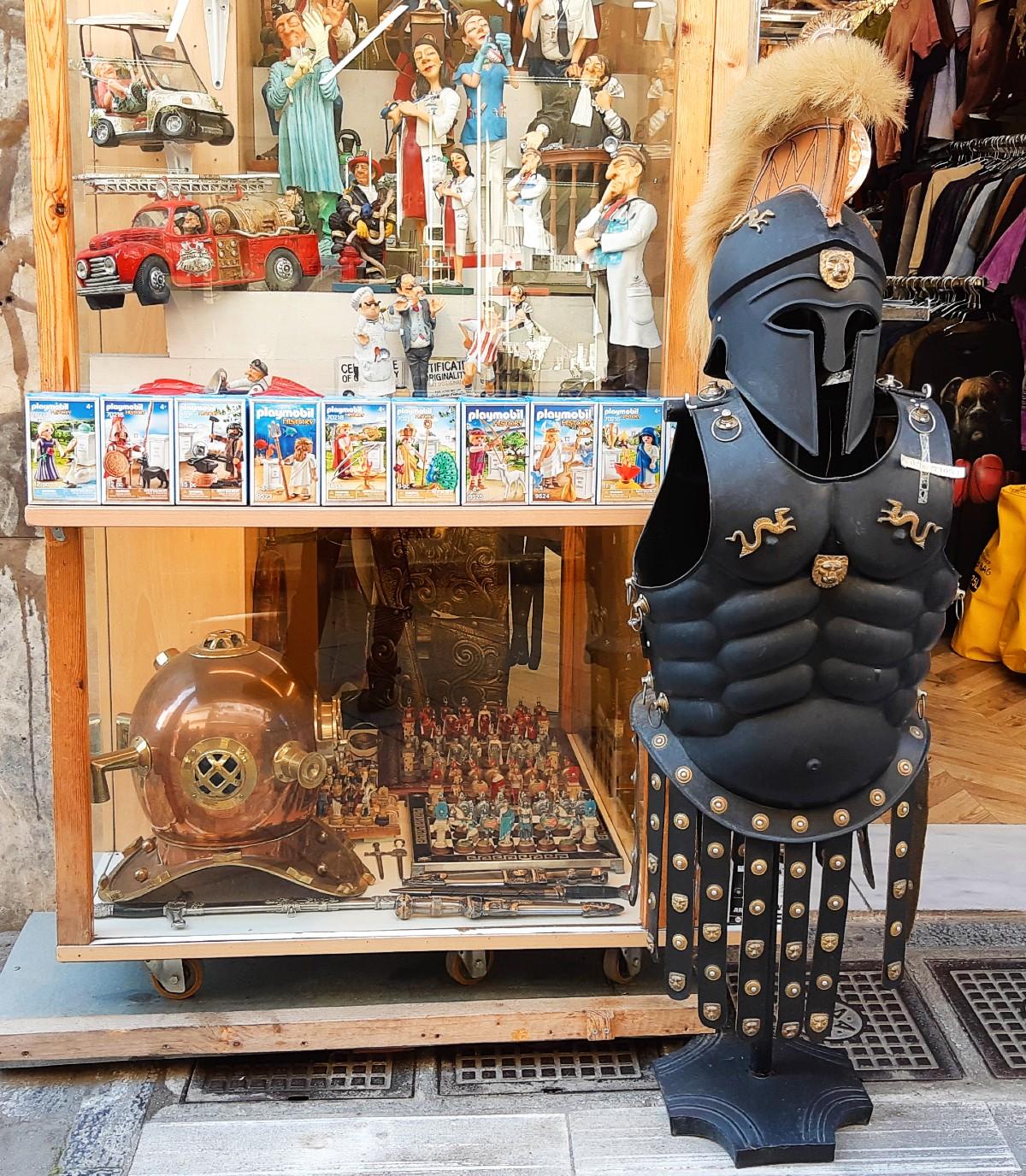 Greek souvenirs - Full body armour