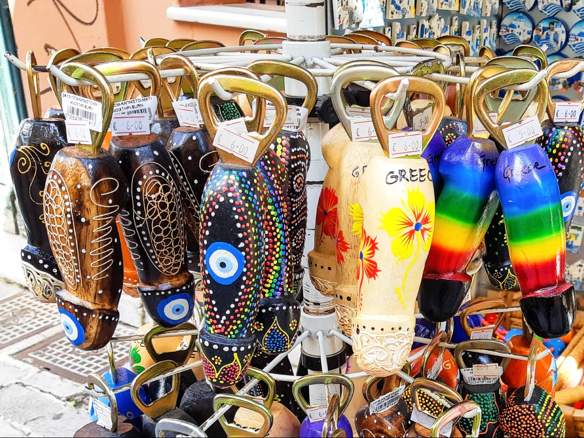 Greek bottle openers make funky souvenirs, but they are not for everyone!
