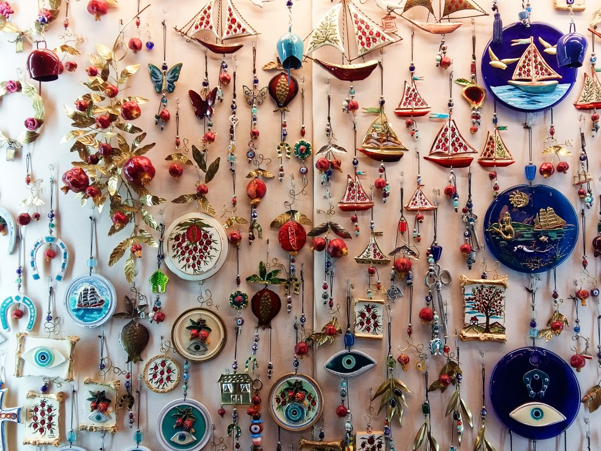 Souvenirs from Greece