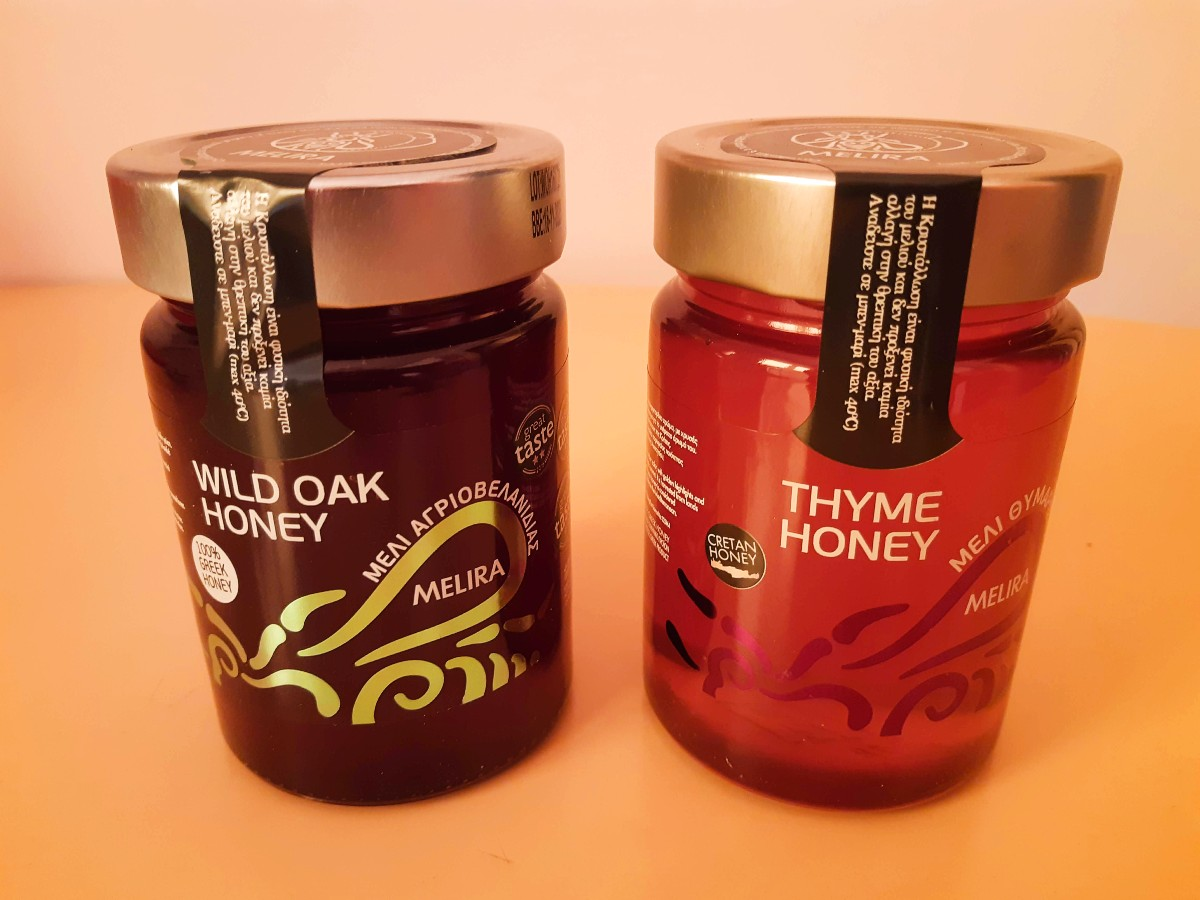 Greek raw honey is a great gift to take home