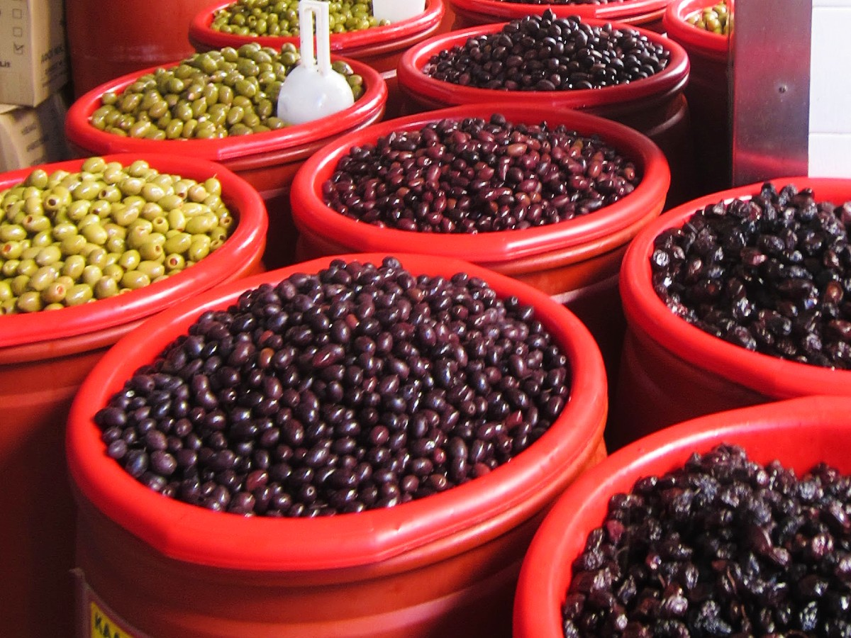 Greek olives are a great present from Greece