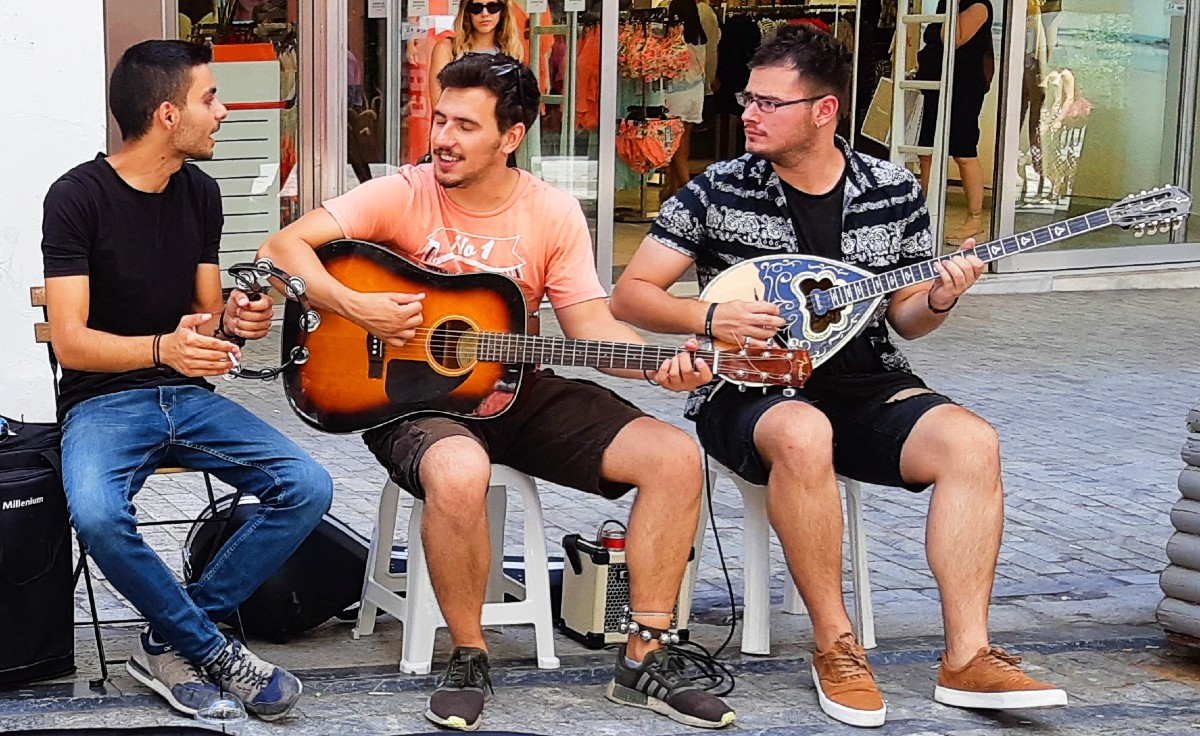 A bouzouki instrument is a very special gift from Greece