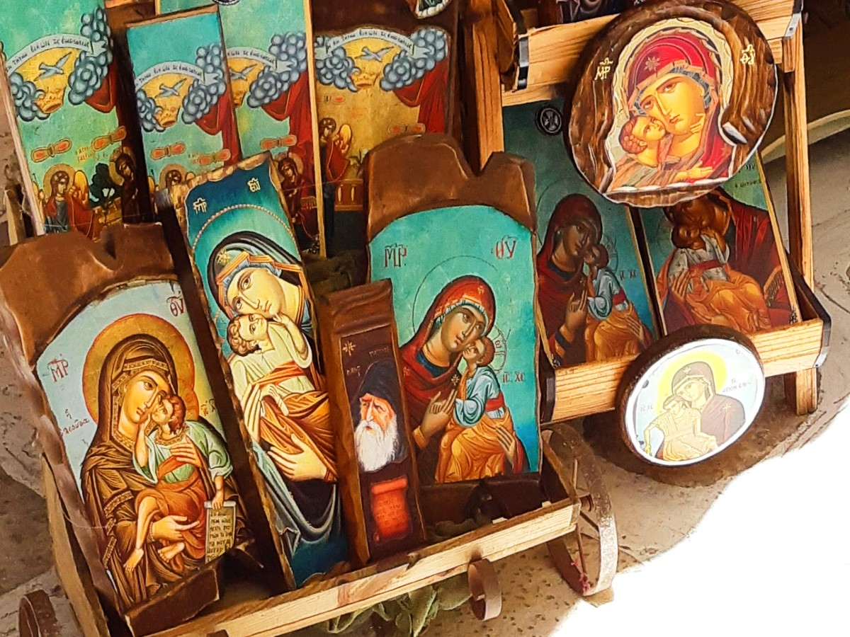 A religious icon from Greece makes a great present