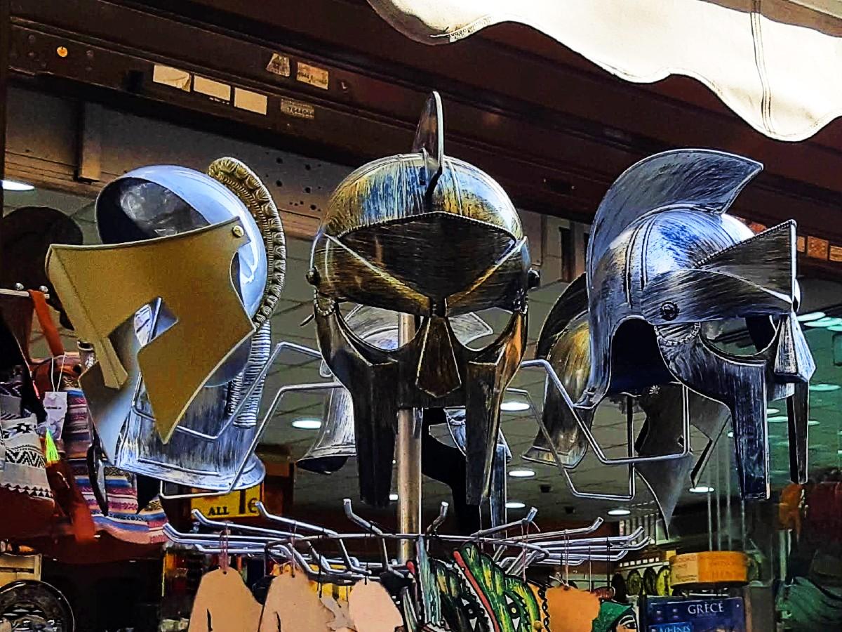 Helmets - the best souvenir for Ancient Greece fans